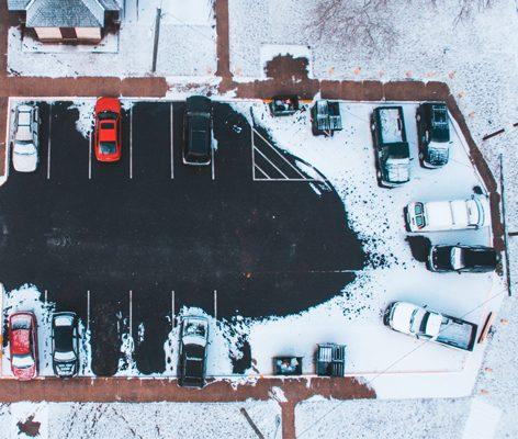 conduite sous la neige