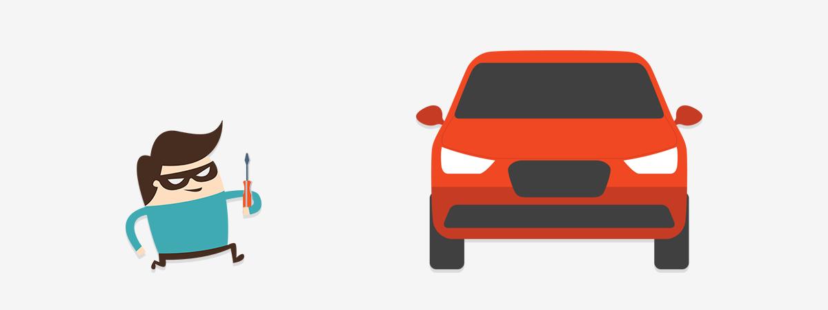 voitures volées en 2016