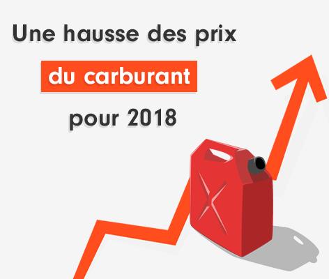 prix carburant 2018
