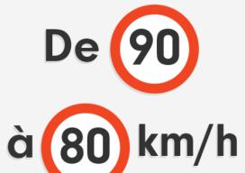 limitation de vitesse 2018