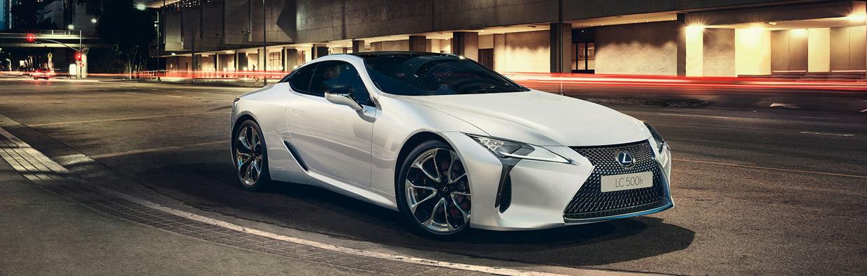 Mondial de l'auto Lexus LC 500