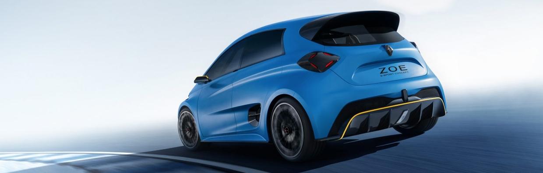 Mondial de l'auto Renault Zoé