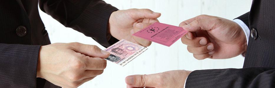 échanger permis de conduire