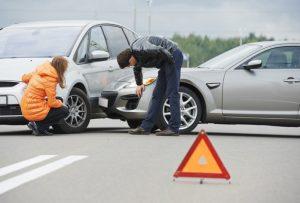 accident de la route démarches