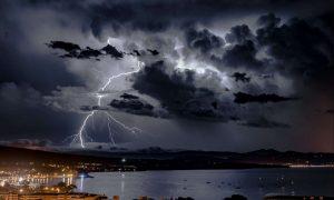 violents orages